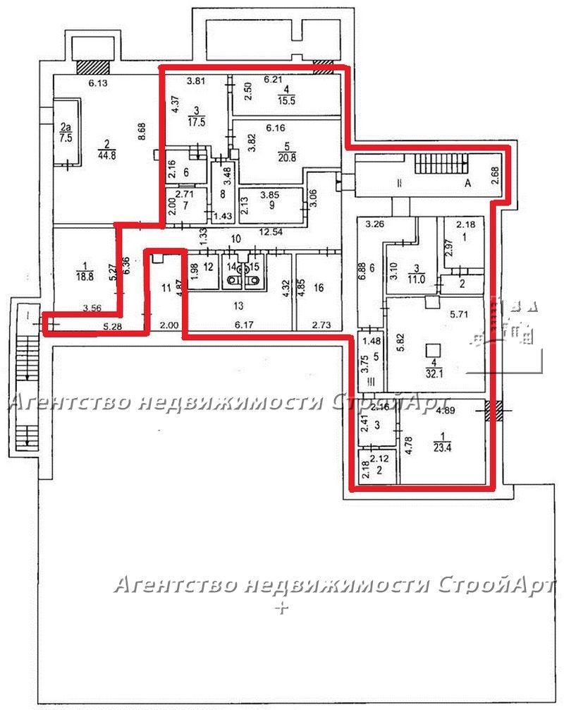 5046 Аренда здания под  ул. Пресненский Вал, 14С3 без комиссии