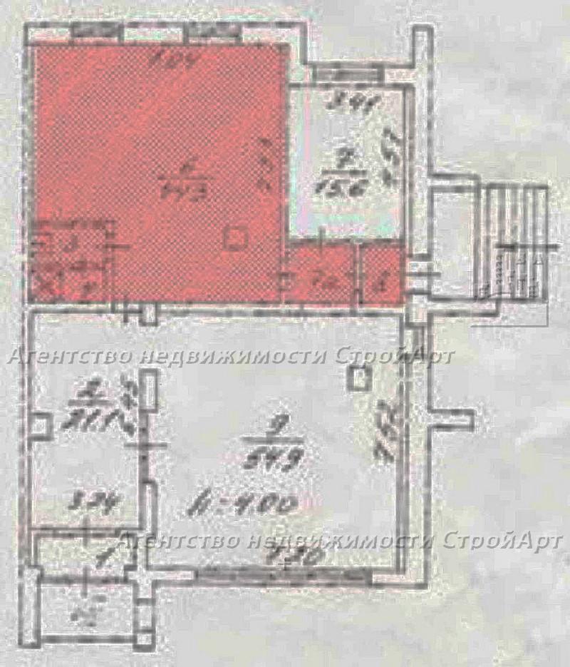 5047 Аренда помещения под банк 82 кв.м Южнобутовская 61 без комиссии