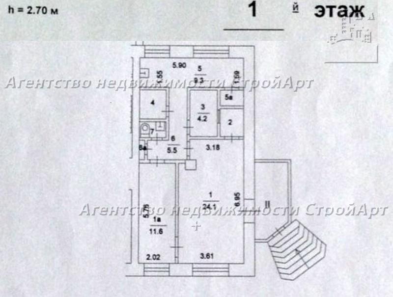 5048 Аренда помещения под банк м. Сокол, Балтийская 6к1, 62кв.м без комиссии