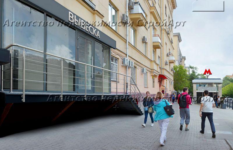 5193 Аренда торгового помещения м. Октябрьское поле, ул. Маршала Бирюзова 12, 77 кв.м без комиссии