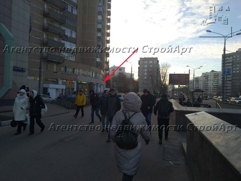 5207 Аренда помещения под банк 164 кв.м, м. Октябрьское поле, ул. Маршала Малиновского, 8, без комис