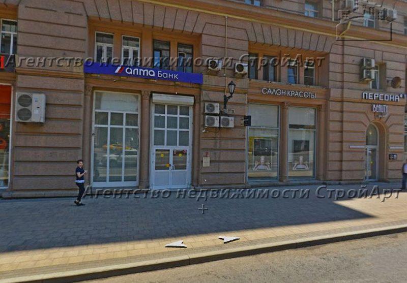 5209 Аренда помещения под банк 103 кв.м, метро Рижская, проспект Мира 70,  без комиссии