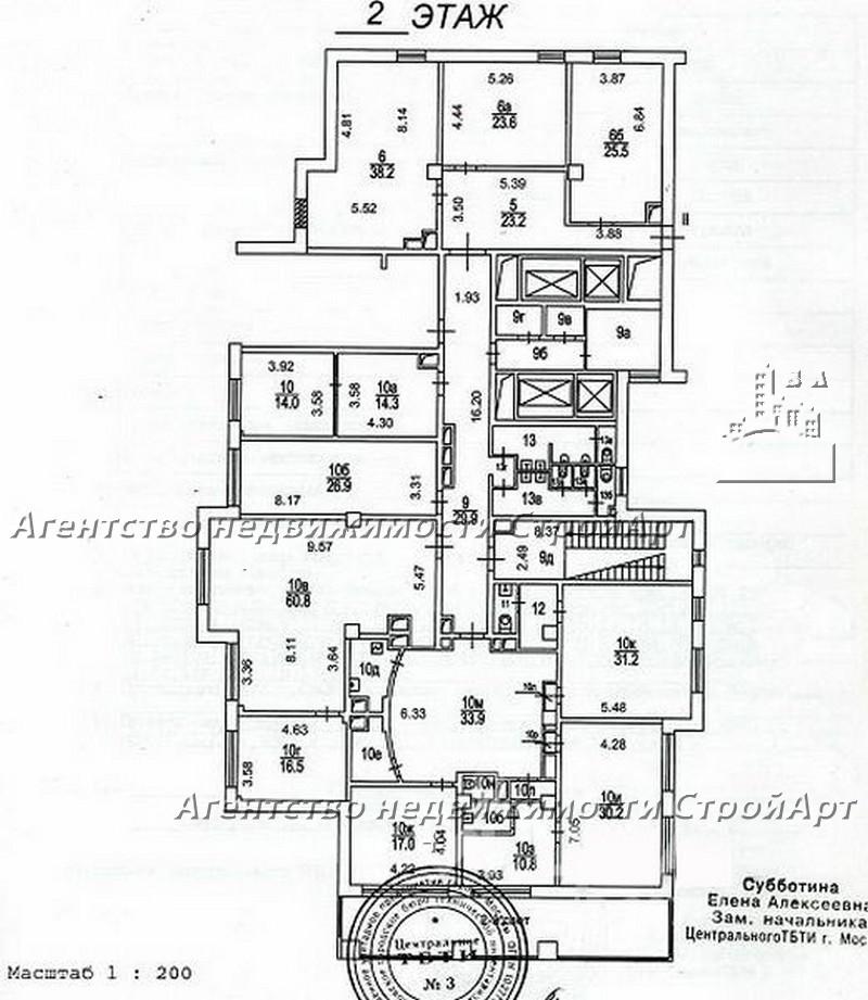 5268 Аренда нежилых помещений м. Деловой центр, Шмитовский пр.16с1, без комиссии