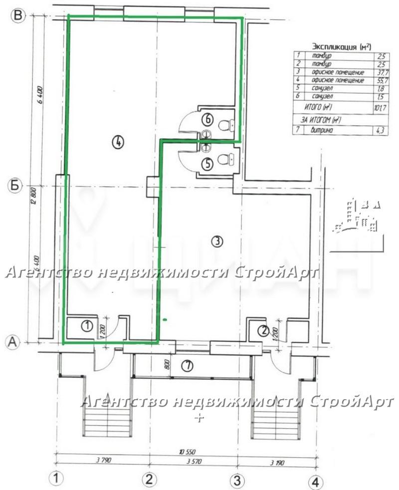 7158 Торговое помещение в аренду 58 м2, м. Беговая, Хорошевское ш., 1, без комиссии