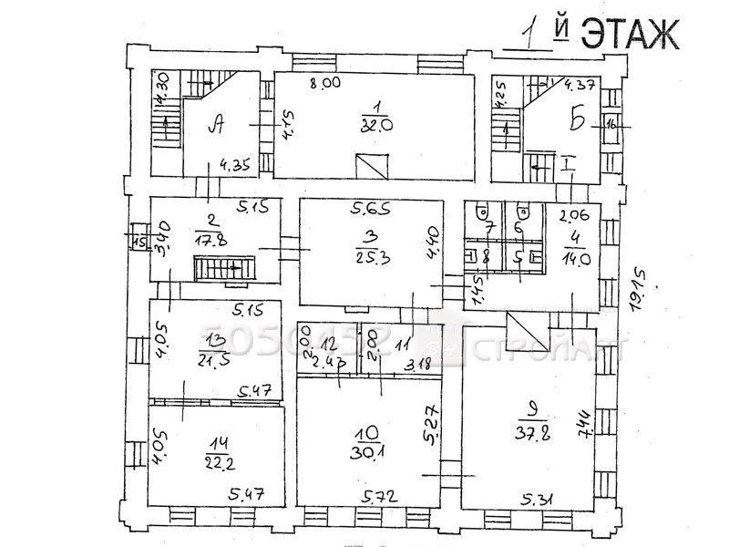 7468 Сдается в аренду банковский особняк м. Новокузнецкая, Пятницкая 42, 890 кв.м без комиссии