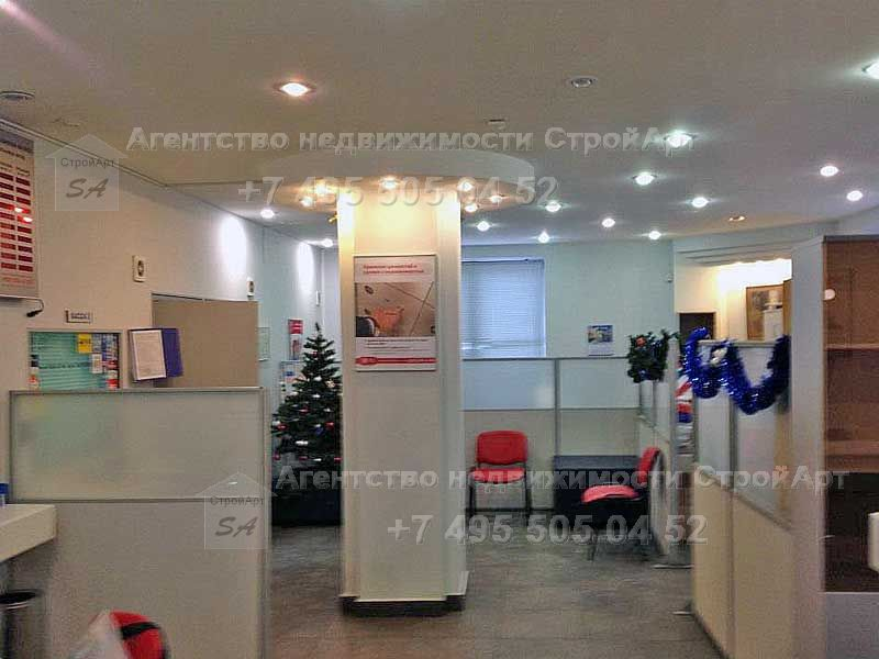 7565 Сдается в аренду банковское помещение ул. Люсиновская, 146.9 кв.м