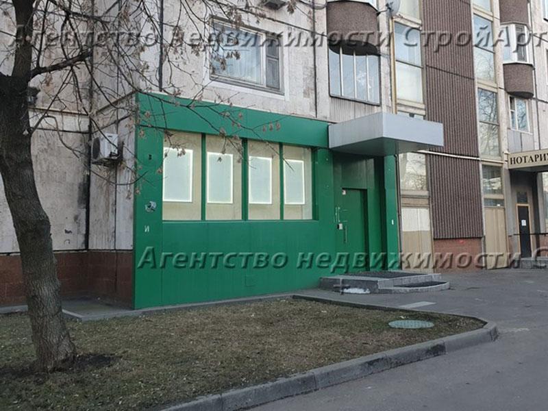 7606 Аренда помещения  м. Добрынинская, ул. Люсиновская 41с1, 78 кв.м от собственника