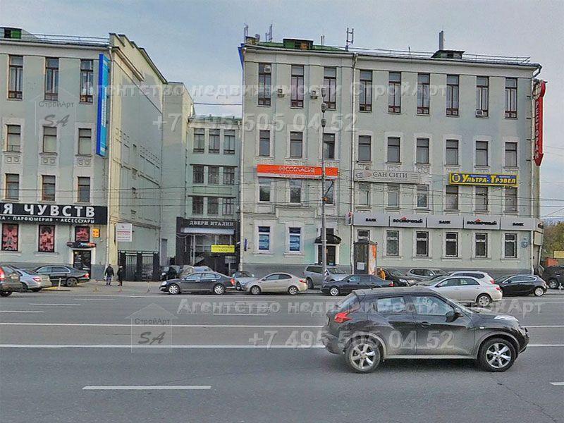 7629 Аренда помещения под банк 126 кв.м Ленинский проспект д.15