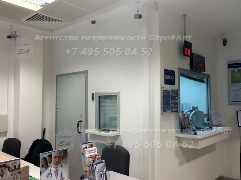 7656 Аренда помещения под банк 145 кв.м м. Нагатинская без комиссии