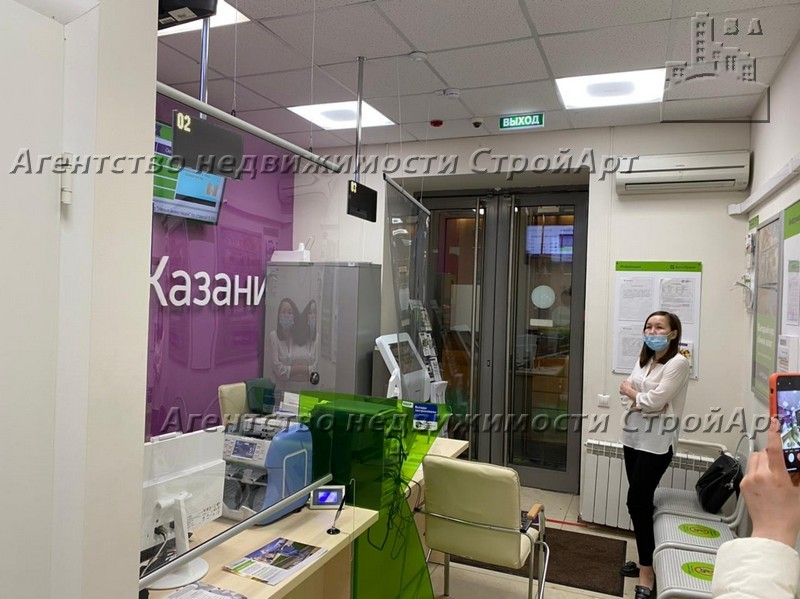 7684 Аренда помещения банка 33 кв.м Ленинградский проспект д.66, без комиссии
