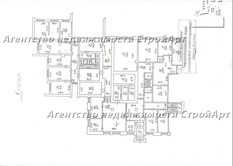 7708 Аренда помещения под банк 580 кв.м ул.Тихвинская 20 без комиссии!