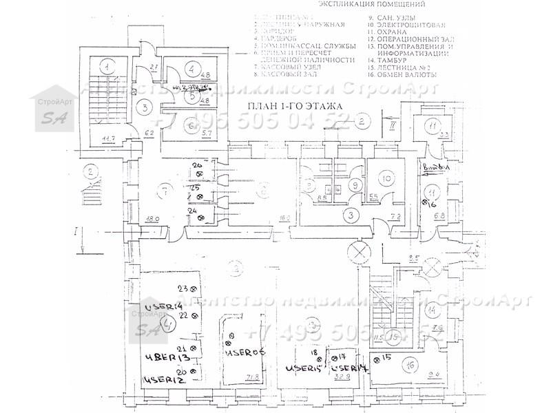 7724 Аренда особняка  ул.А. Солженицына 8с1, 850 кв.м без комиссии