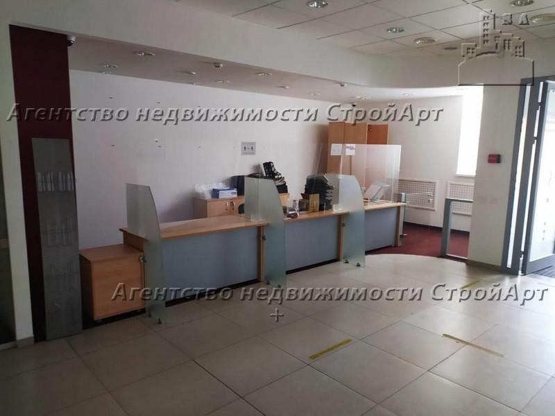 7760 Аренда помещения под банк 110 кв.м м. Нагатинская, Варшавское шоссе, 36 без комиссии