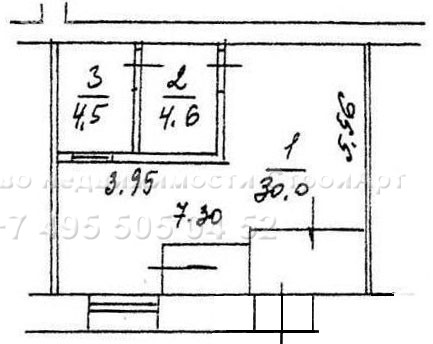 7797 Аренда помещения под банк Ленинградский пр. д.35, 40 кв.м без комиссии