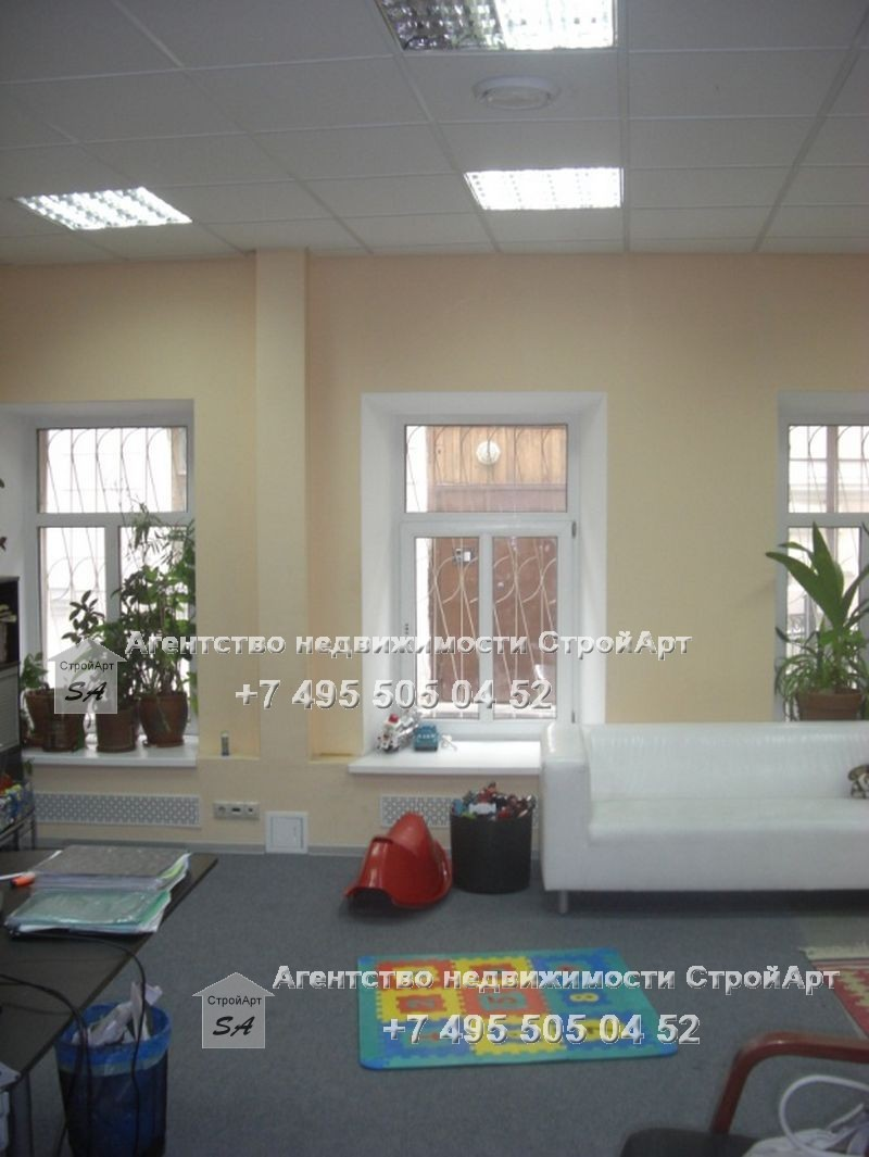 7862 Аренда помещения свободного назначения  135 кв.м, М. Кисельный пер. д.3 с. 2 от собственника