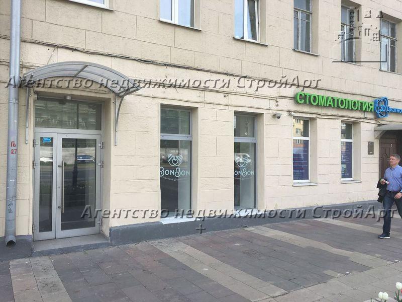 7872 Аренда торгового помещения 70 кв.м Новослободская д.71 без комиссии