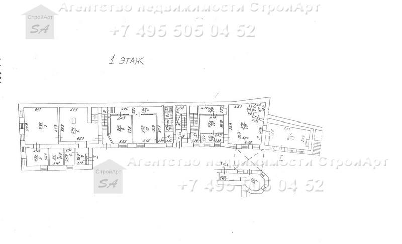 Аренда  зданий 1420кв.м и 972 кв.м Дмитровский пер. д.3 стр.1,2,4 без комиссии