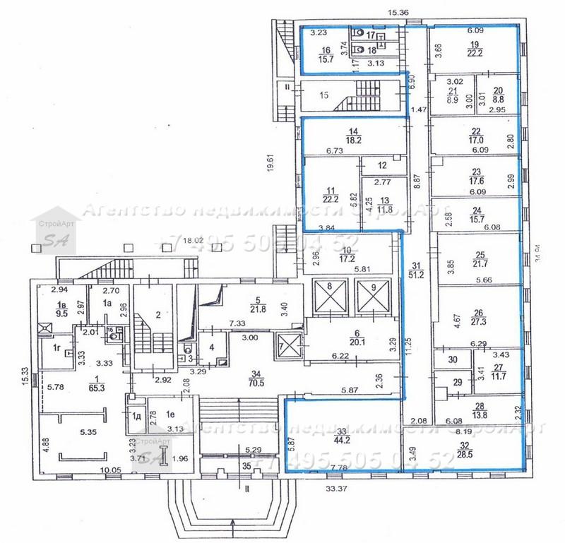 Аренда помещения под банк 3-я ул. Ямского поля, площадью 374 кв.м без комисии