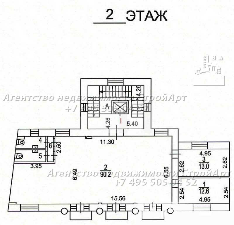 7956 Аренда здания под банк Н.Красносельская 30, 830кв.м без комиссии