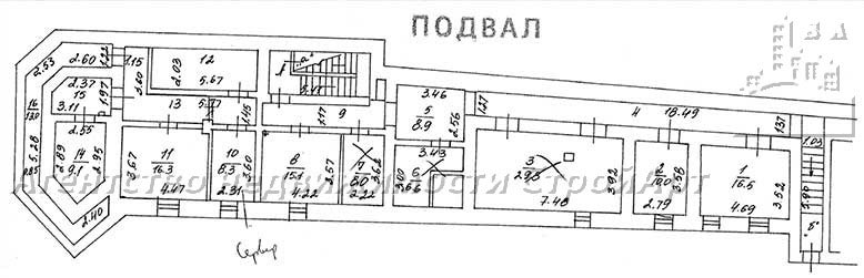 7969 Аренда помещения под банк ул. Ольховская 16 стр.5-5а, м.Красносельская без комиссии