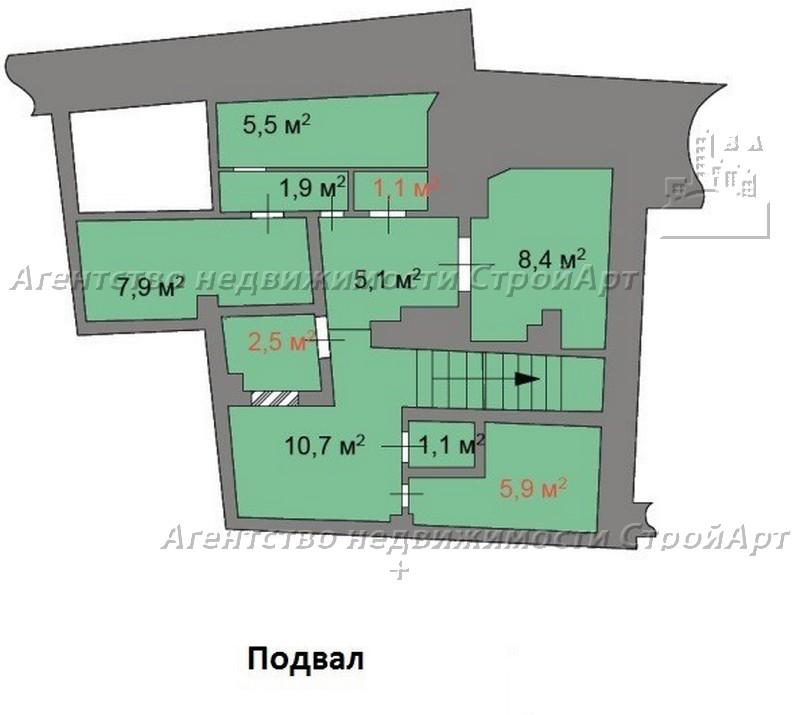 7971 Аренда помещения под банк Котельническая наб. 1/15, 375 кв.м без комиссии