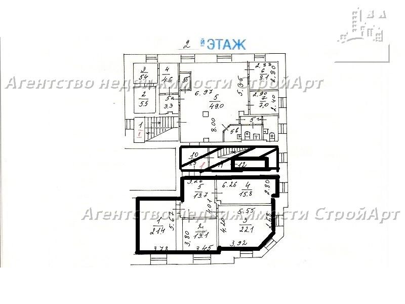 Аренда помещения под банк м. Дмитровская, ул. Бутырская 86Б, 108 кв.м, без комиссии