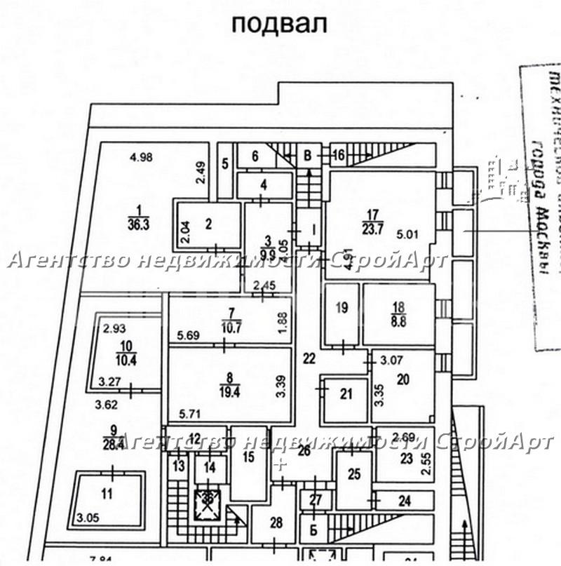 7981 Аренда здания под банк Б.Ордынка 2, 1332 кв.м без комиссии