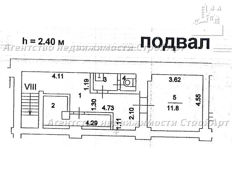 7993 Аренда нежилого помещения  просп. Мира 79, 174,8 кв.м, без комиссии