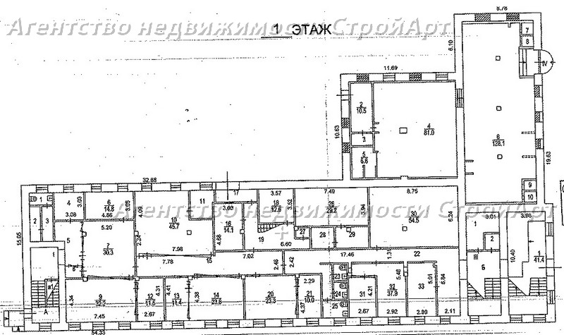7994 Аренда здания под банк Б.Саввинский пер 12с11, 1228 кв.м без комиссии