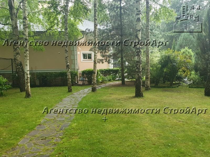9003 Коттедж 764 кв.м в КП Никольская слобода, Новорижское шоссе в аренду, от собственника!