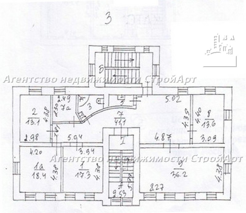 Аренда особняка под банк 904 кв.м, М.Грузинская 10с1