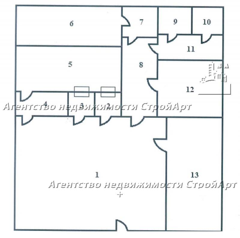 5081 Аренда помещения под банк м. Красные ворота, Садовая-Черногрязская 8с7, 121кв.м без комиссии