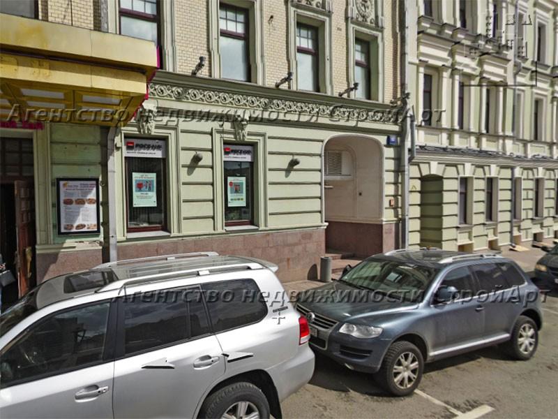 5094 Аренда помещения под банк 140 кв.м, метро Арбатская, Москва, Поварская улица, 10с1 без комиссии