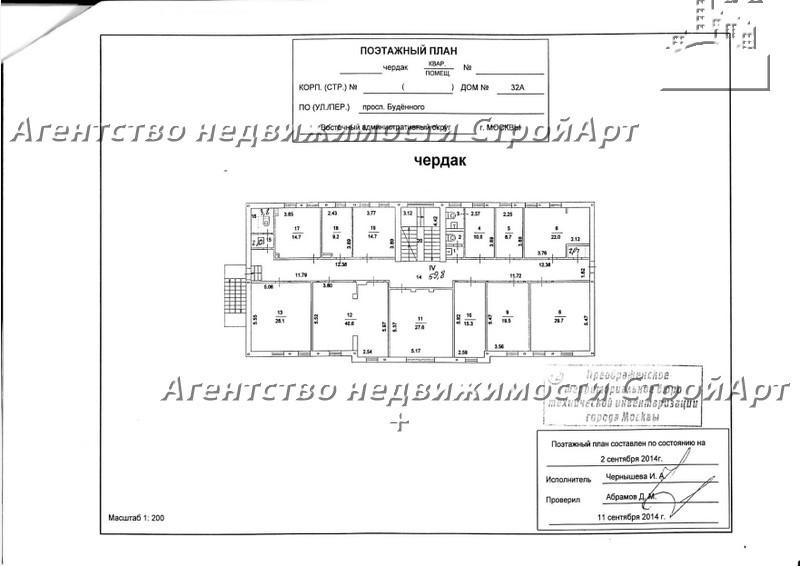 5106 Аренда банковского особняка м. Шоссе Энтузиастов, просп. Буденного, 32А, 1060м2 без комиссии