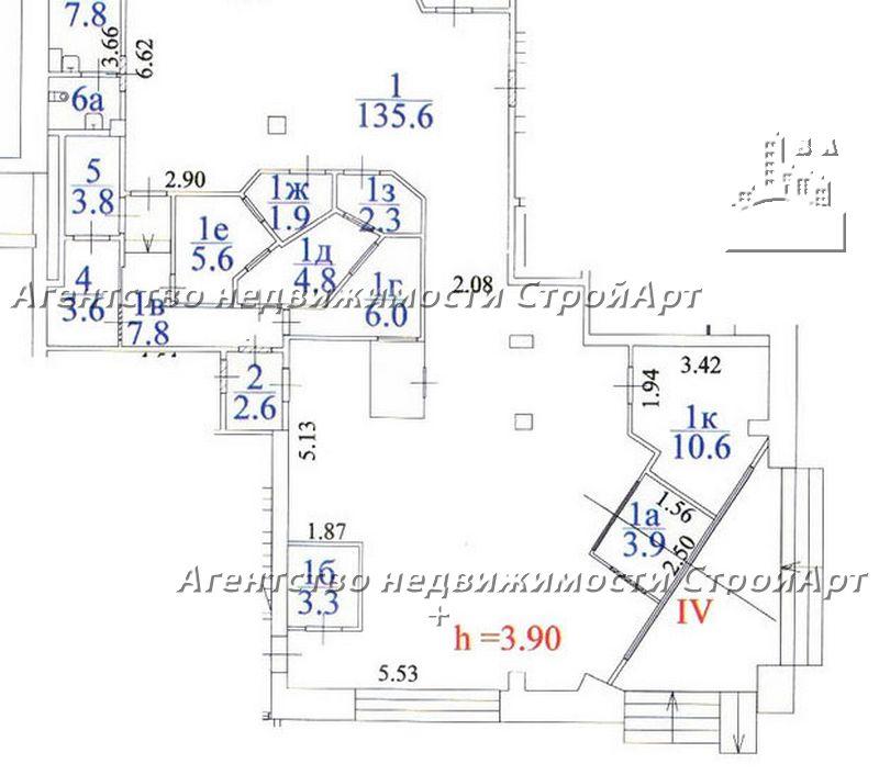 5107 Аренда банковского помещения 210 кв.м, м. Марксистская, Б. Факельный пер. 3с2 без комиссии