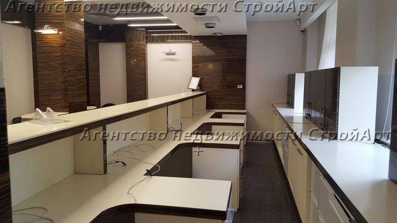 5134 Аренда помещения под банк м. Октябрьское поле, ул. Маршала Мерецкова 3, 247 кв.м без комиссии