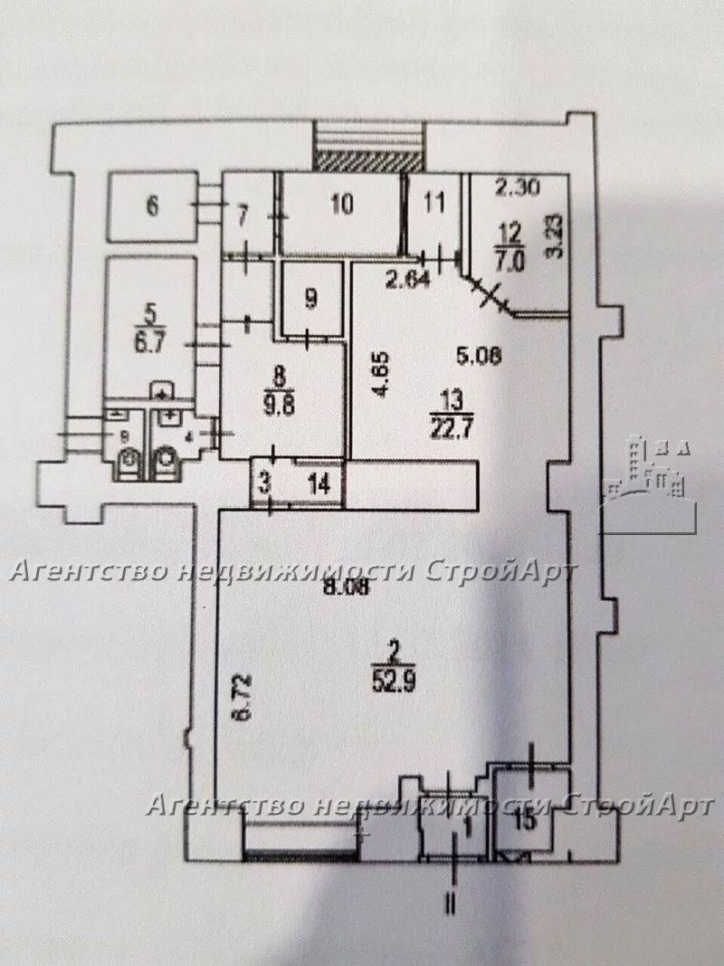 5165 Аренда помещения под банк 124кв.м, м. Сухаревская, Б.Сухаревская пл.16/18с2 без комиссии