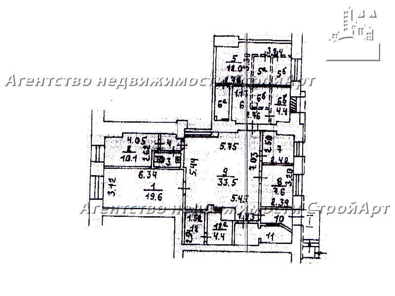 7151 Аренда помещения под банк м. Белорусская, Ленинградский пр. 26к1, 135 кв.м без комиссии