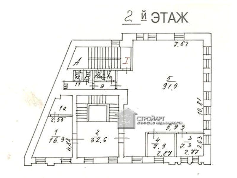 7406 Продажа особняка м. Добрынинская, ул. Б. Полянка 61, 591 кв.м без комиссии