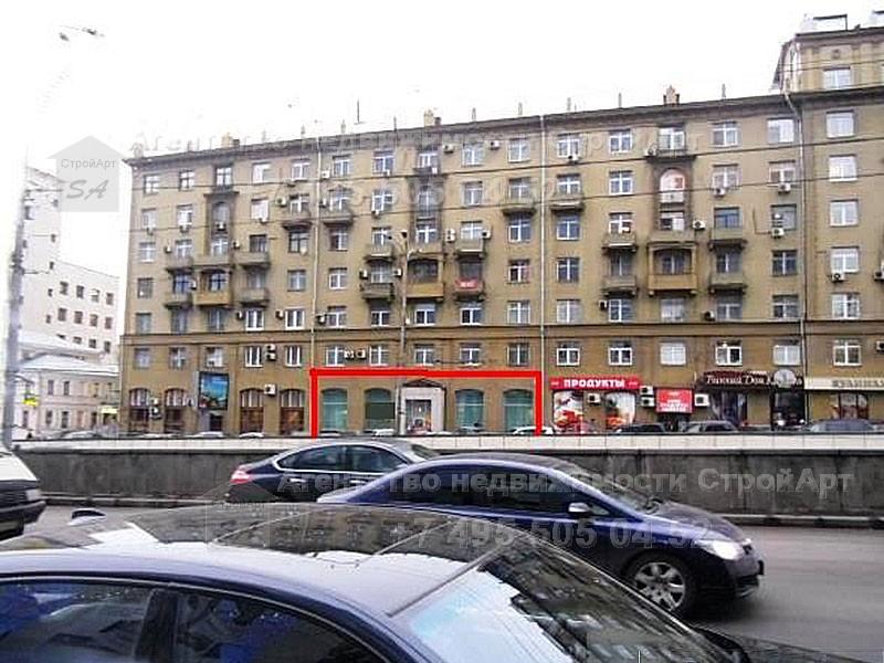 7414 Аренда  помещения под банк м. Смоленская, Новинский бульвар д.7, 244кв.м без комиссии