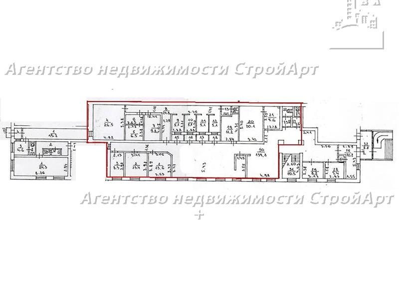 7436 Аренда помещения под банк 3-й Нижнелихоборский проезд, 1А, 321 кв.м без комиссии