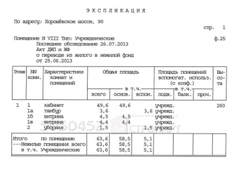 7458 Сдается помещение под банк Хорошевское шоссе д.90, 64 кв.м, от собственника