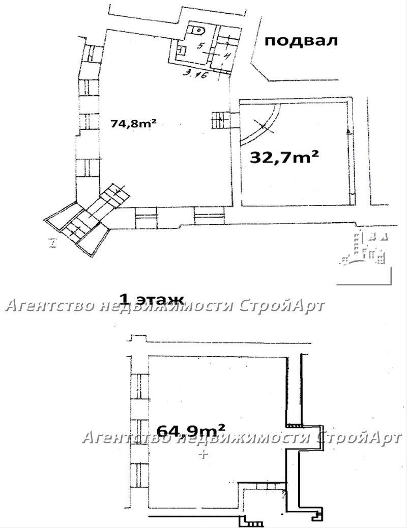 7510 Аренда помещения м. Маяковская, Б. Садовая 6, 172 кв.м без комиссии!