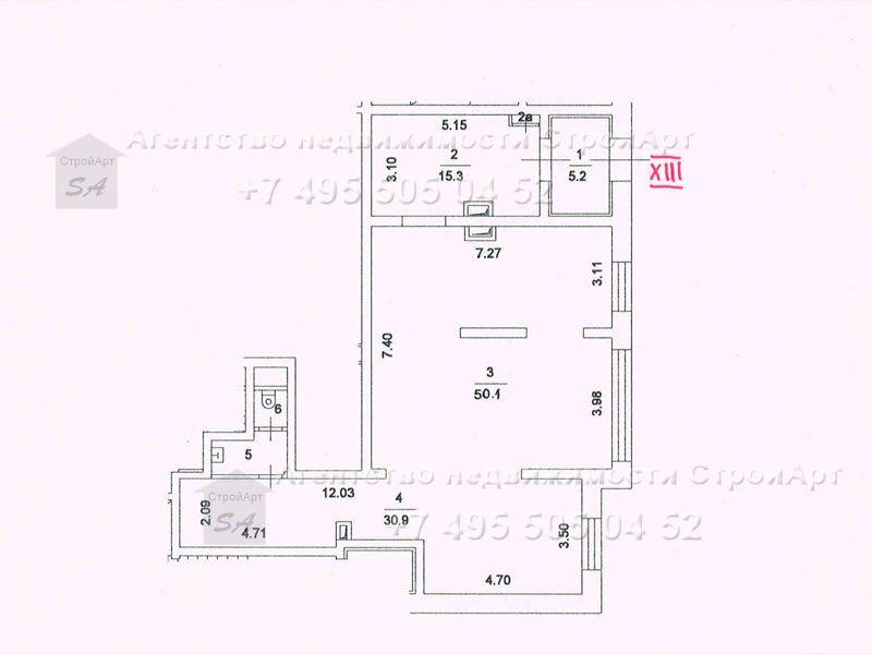7627 Аренда помещения под банк 105,5 кв.м Яблочкова д.16  без комиссии