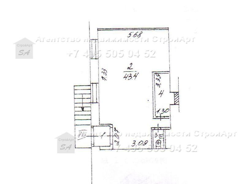 7681 Аренда помещения под банк Н. Красносельская 55 кв.м без комиссии