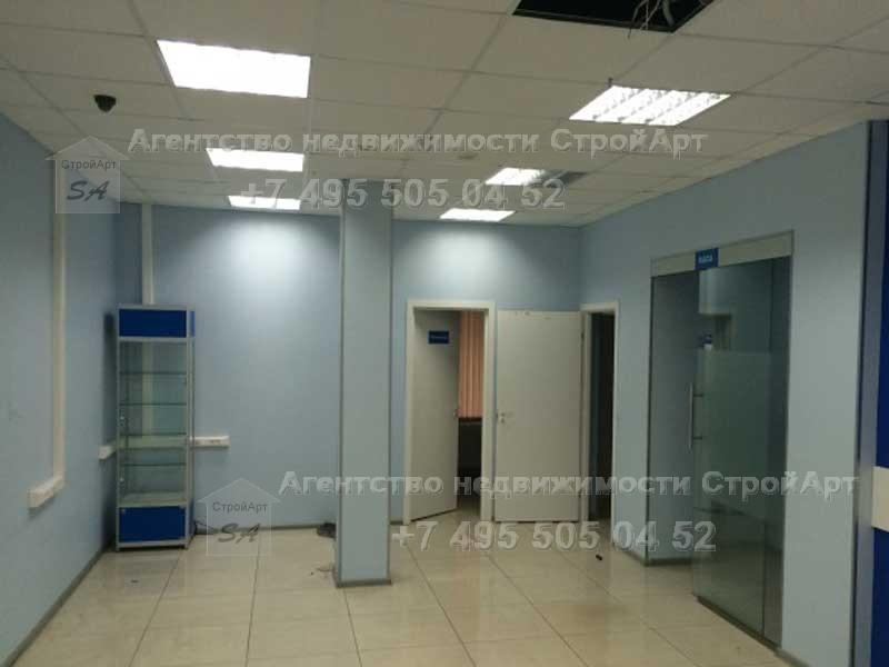 7701 Аренда помещения под банк 75 кв.м, м. Сокол, ленинградский проспект д.69