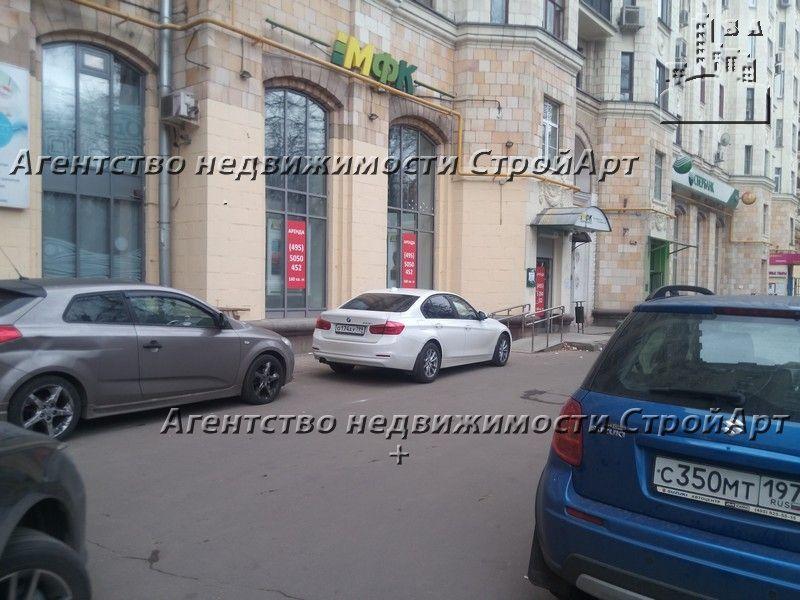 7713 Аренда помещения под банк 159,6 кв.м, 1-й Новоподмосковный пер. д. 2/1  от собственника