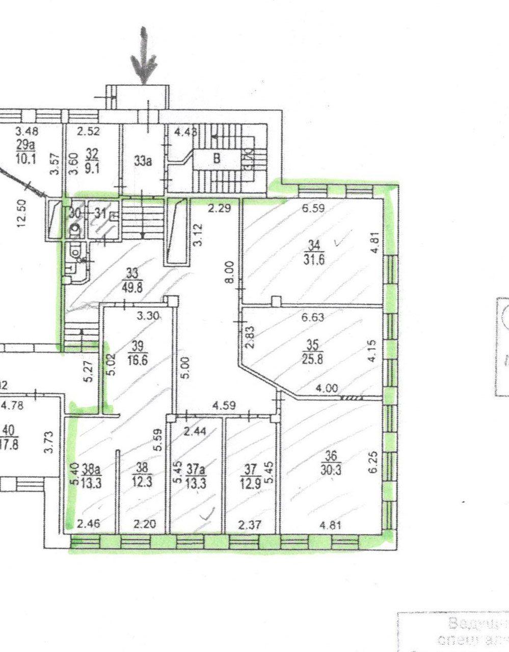 7739 Офис 210 кв.м м. Китай-город, Солянка д.13/3с1 без комиссии
