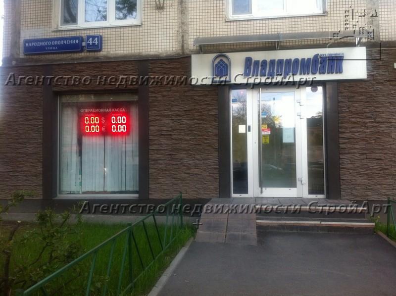 7867 Аренда помещения под банк 40 кв.м ул. Народного Ополчения д.44 без комиссии