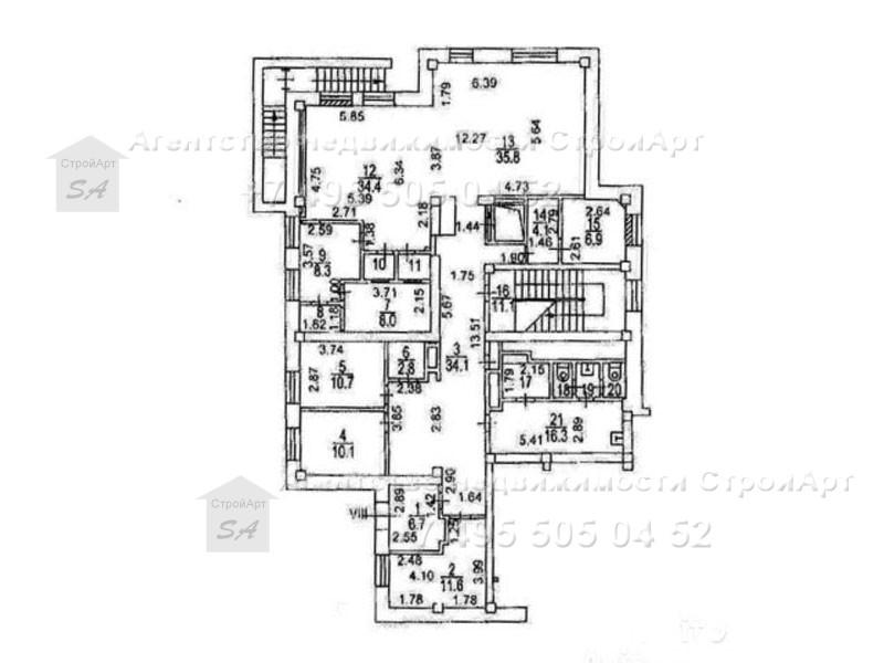7903 Аренда помещения под банк 100 кв.м М.Василевского д.17 без комиссии